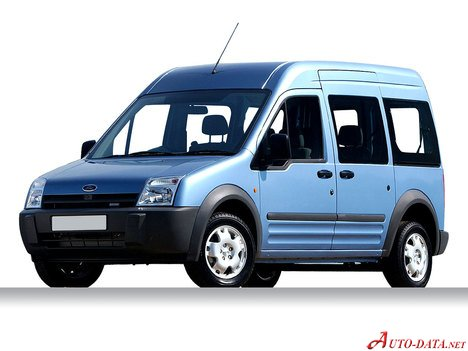 2003 Ford Tourneo Connect 1 8 I 16v 115 Hp Technical Specs