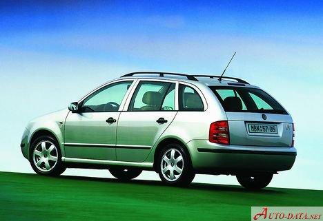 skoda - fabia i combi (6y) - 1.4 16v (101 hp) - technische daten