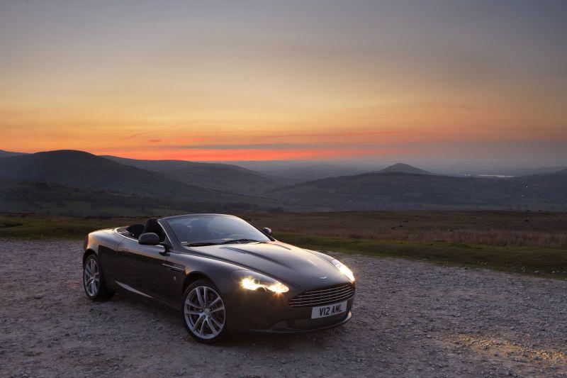 2004 Aston Martin Db9 Volante 6 0 I V12 456 Hp Technical Specs Data Fuel Consumption Dimensions