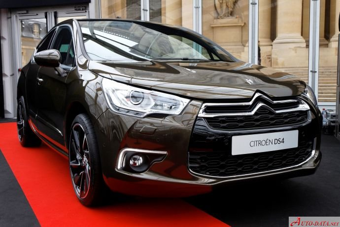 Citroen DS4 2.0 BlueHDi (181 Hp) Automatic - Technical Specs, Fuel consumption, Dimensions