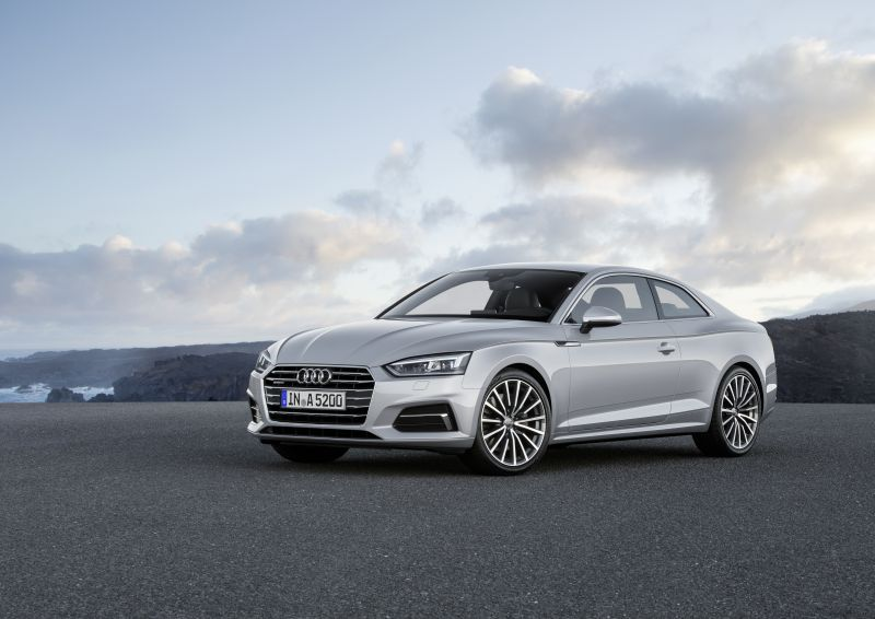 Audi A5 Coupe (F5) - Technical Specs, Fuel consumption, Dimensions