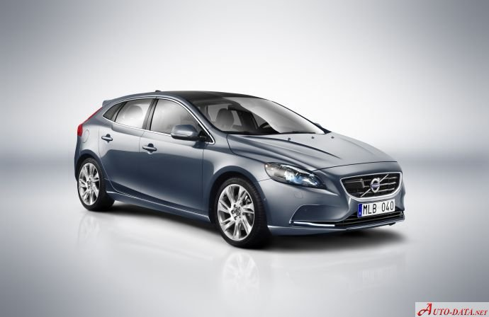 Volvo V40 (2012) 2.0 D2 (120 Hp) Restricted - Technical Specs, Fuel consumption, Dimensions