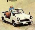 Technical specifications and fuel economy of Trabant P 601