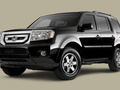 Technical specifications and fuel economy of Honda Pilot