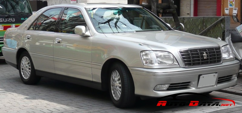Toyota Crown Royal XI (S170, facelift 2001) 2.0 24V (160 Hp) Automatic - Technical Specs, Fuel consumption, Dimensions