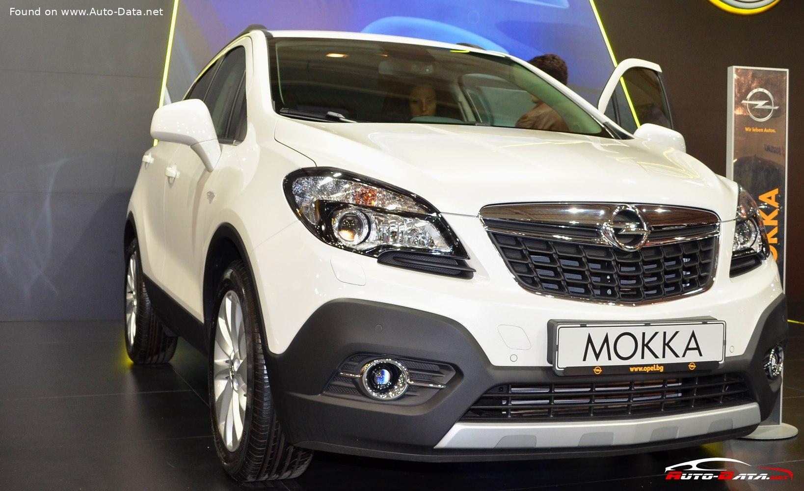 2015 Opel Mokka 1 6 Cdti 110 Hp Ecoflex Technical Specs Data Fuel Consumption Dimensions