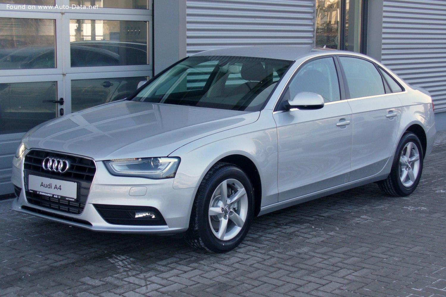 2011 Audi A4 (B8 8K, facelift 2011) 1.8 TFSI (170 CV ...