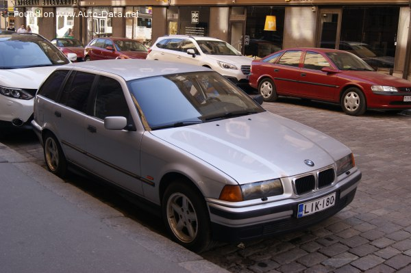1995 Bmw 3 Series Touring E36 318 Tds 90 Hp Technical Specs Data Fuel Consumption Dimensions
