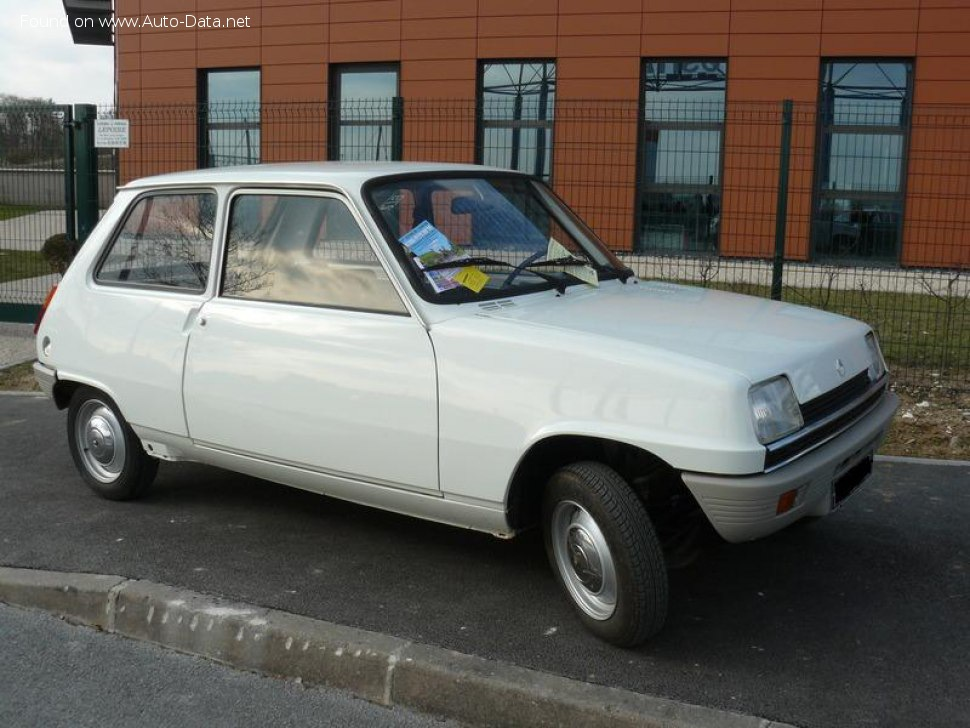 Renault 5 - Technical Specs, Fuel consumption, Dimensions