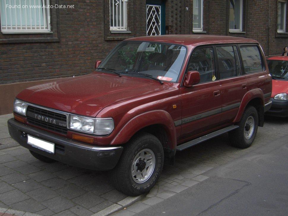 1992 Toyota Land Cruiser 80 4 5 24v Fzj80 205 Ps Technische Daten Verbrauch Spezifikationen Maße