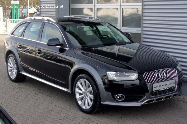2011 Audi A4 Allroad B8 8k Facelift 2011 2 0 Tfsi 225 Hp Quattro S Tronic Technical Specs Data Fuel Consumption Dimensions