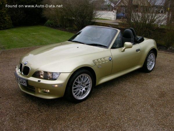 1995 BMW Z3 (E36/7) 1.9 (140 Hp)   Technical specs, data ...