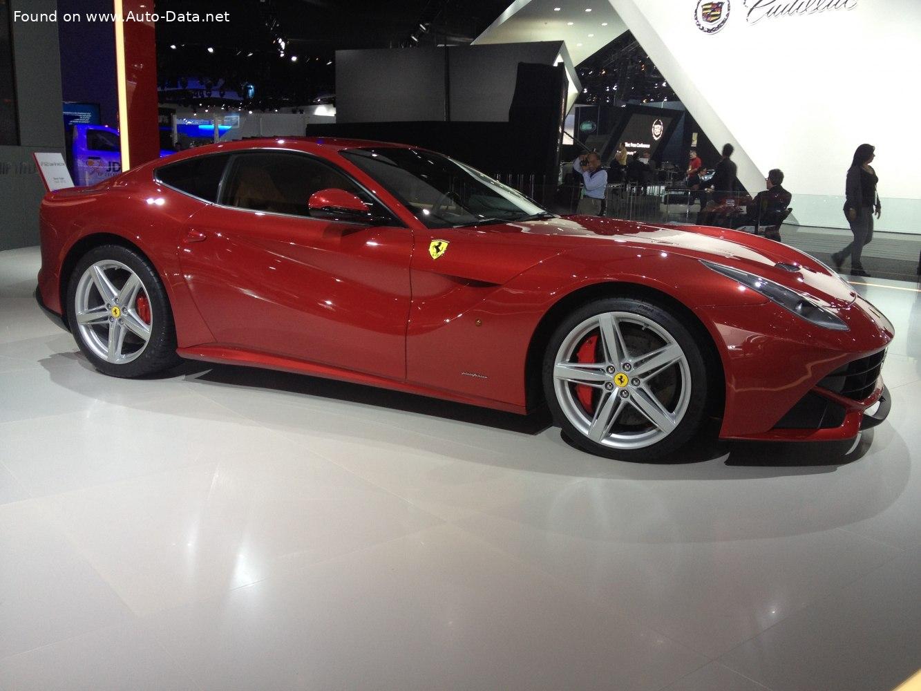2012 Ferrari F12 Berlinetta 6 3 V12 740 Hp Technical Specs Data Fuel Consumption Dimensions