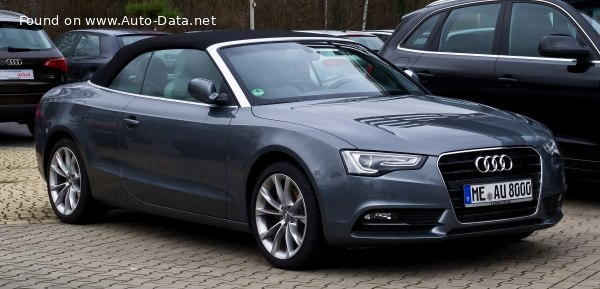 2012 Audi A5 Cabriolet (8F7, facelift 2011) - Photo 1