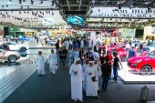Dubai International Motor Show 2015 opening