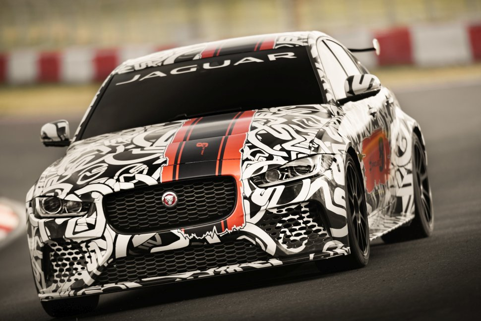 New concept vehicle called XE SV Project 8 from Jaguar