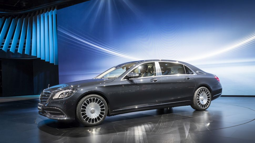 Mercedes-Benz new S-Class vehicle debut at 2017 Shanghai Auto